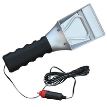 MAYITR 12V Car Electric Heated Ice Scraper Snow Melter Shovel Scoop Use For Windscreen Hight Quality