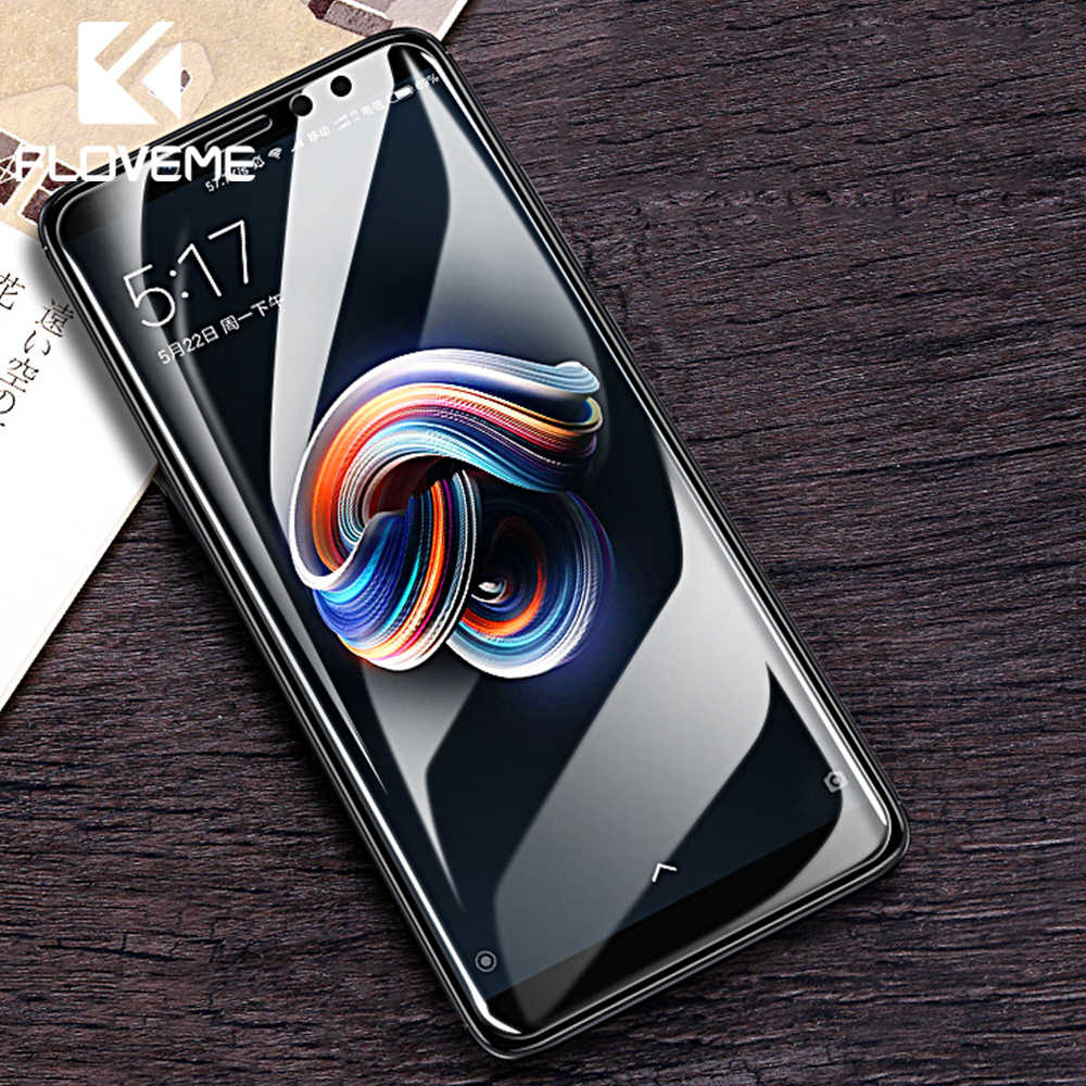 FLOVEME Tempered Glass For Xiaomi Redmi Note 5 6 Pro 4X Screen Protector For Xiaomi Pocophone F1 MI 8 Lite Protective Glass Film