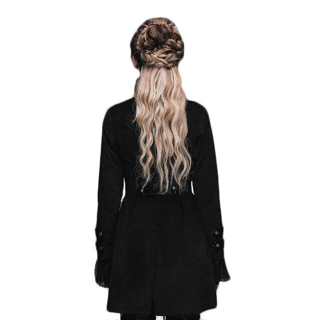 Gótico Mujer Punk Patrón Compras Abrigo Baratas Victoriano Femenino qSn16Pw