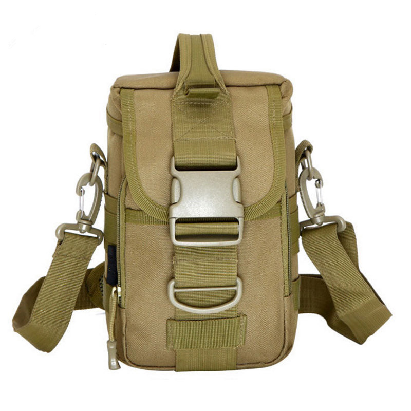 Molle tactical military crossbody message hand bag outdoor sports camping riding nylon waterproof handbags shoulder bags pouch outlife new style professional military tactical multifunction shovel outdoor camping survival folding spade tool equipment