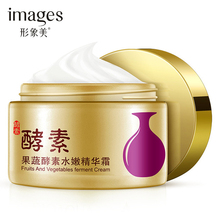 images Enzyme Essence Face Cream Natural Plant Water Tender Enzyme Facial Cream Moisturizing Anti-Aging Anti Wrinkle Day Cream