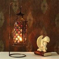 Grande Porta de Acrílico Cubo de metal Suporte de Vela Novo Design Castiçal lanternas marroquinas Casamento Castiçais de Decoração Para Casa de ferro