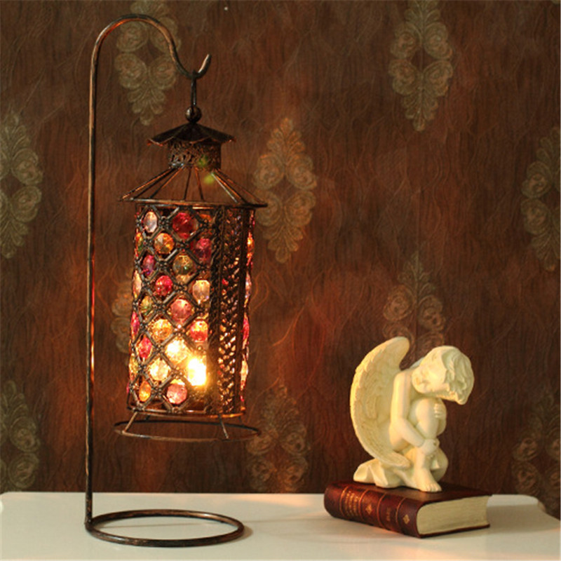 Large acrylic door metal candle holder new design cube candlestick moroccan lanterns wedding - Improve your home decor with moroccan lamps ...