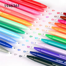 Luxury high quality 3000 Sketching Drawing Art Marker Pen Hook Fiber Fine liner pen Ink color Student school office Gel pen(China)