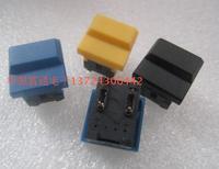 20PCS LOT Imported Taiwan PB86 No Light Control Console Key Switch 17 17 Square Reset Light