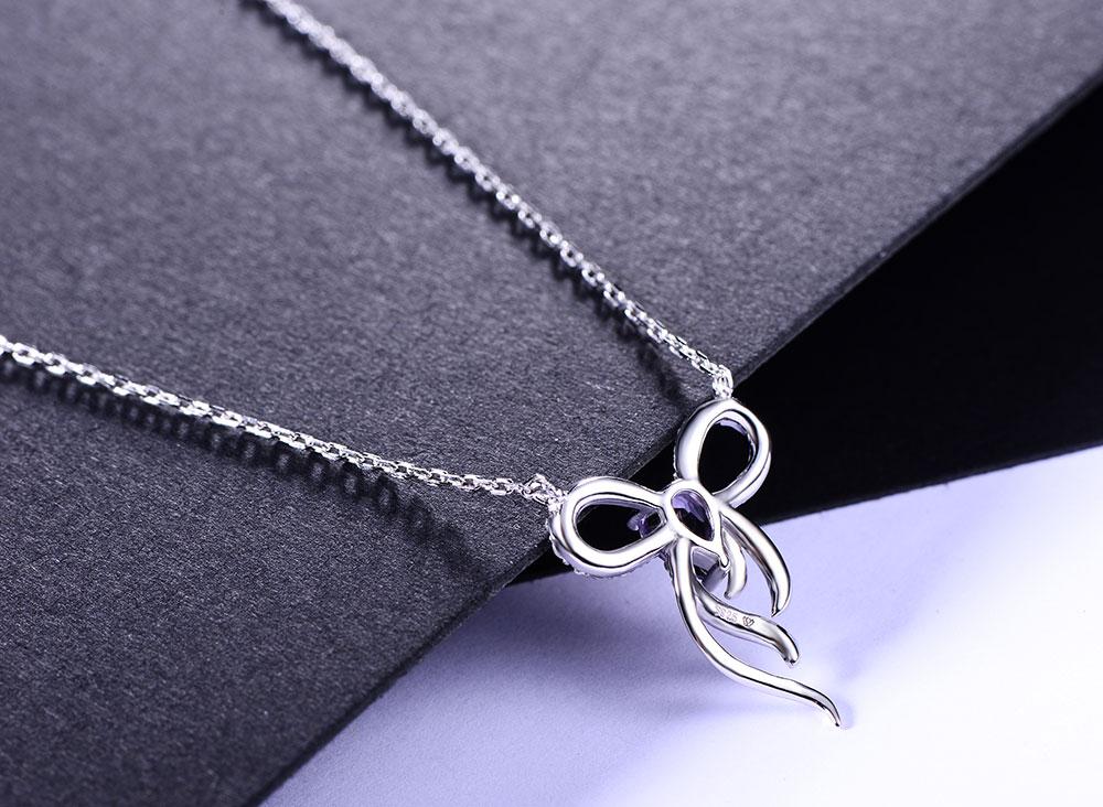 silver amethyst necklaces CAnl00382sa-1 (4)