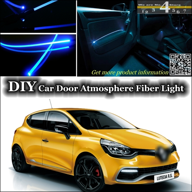 interior Ambient Light Tuning Atmosphere Fiber Optic Band Lights For ...