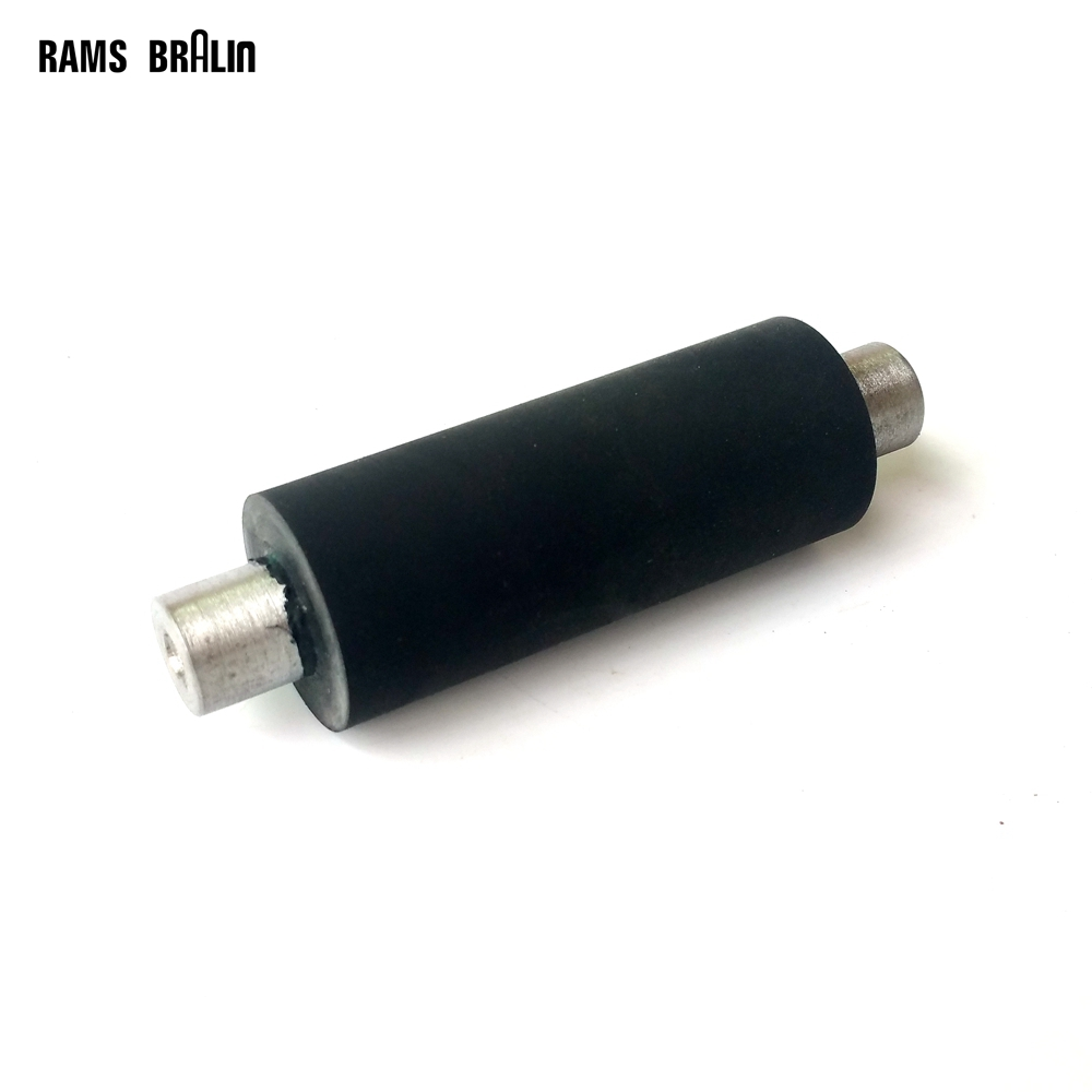 1 piece 1*2 1/2*1/2*3 1/2 Rubber Roller with Shaft Grinder Contact Wheel 1 2