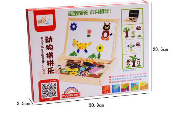 Double-Sided Magnetic Drawing Board Educational Toys