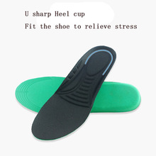 Hot Sale Nano silver Size 35-45 Unisex Orthotic Arch Support Casual Shoes Pad massage Insoles Insert Cushion for Men Women