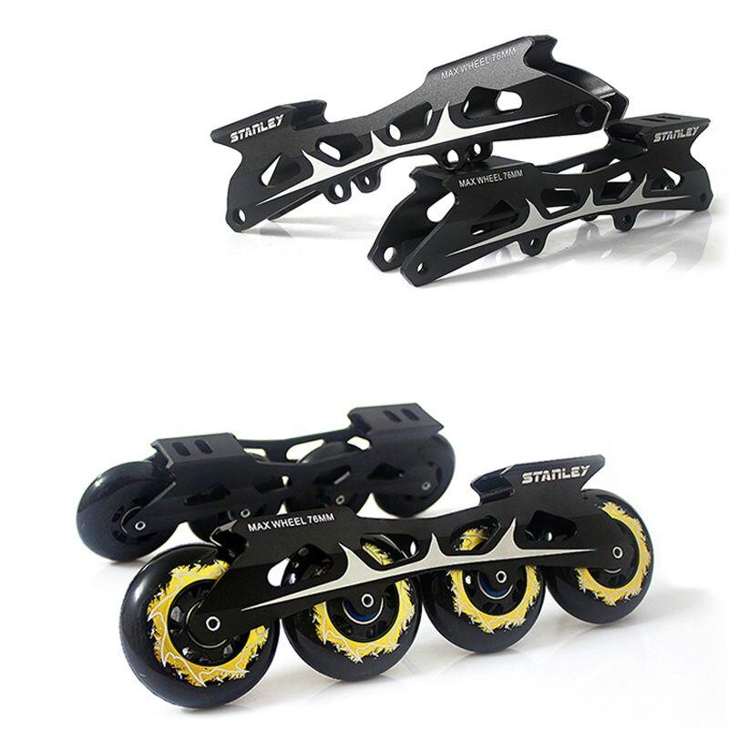 Prix pour Livraison gratuite patins à roulettes frame rocker cadre de la banane avec roues 231 mm et 243 mm