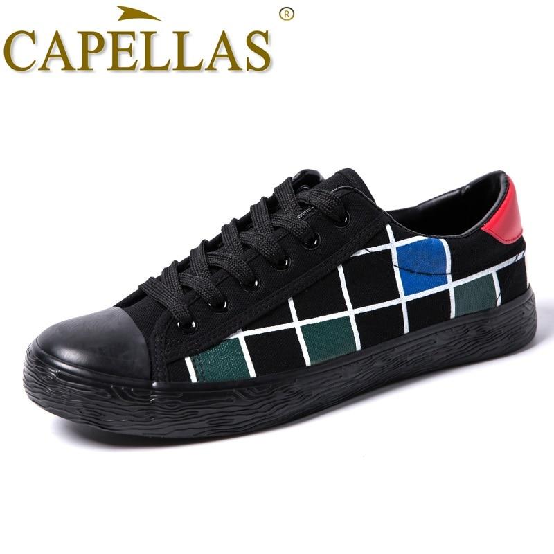 CAPELLAS Fashion Leisure Pria Sepatu Kanvas Mens Sepatu Kasual - Sepatu Pria - Foto 2