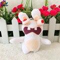 Wholesale 50pcs Crazy Rayman Raving Rabbids Big Bang doll mobile phone key chain pendant plush toys wedding birthday party gift