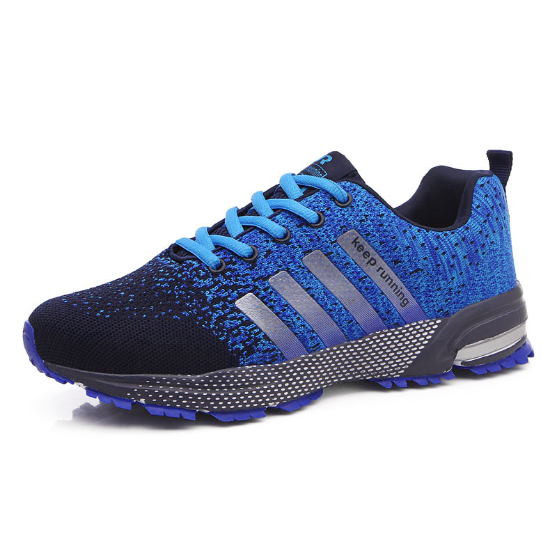 2018 Running Shoe for Men Adult Athletic Trainer Maxs Size 35-44 Cushioning Outdoor Breathable Fitness Sneaker  Sports Gym Shoe