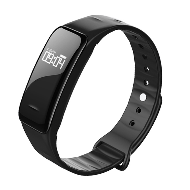 New Smart Wrist Band With Heart Rate Blood Pressure IP67 Waterproof Health Sleep Monitor For Android IOS