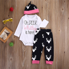 Fashion Newborn Baby rompers boy Romper branded Newborn baby clothes jumpsuit doll long Sleeve Baby boy Clothes christmas