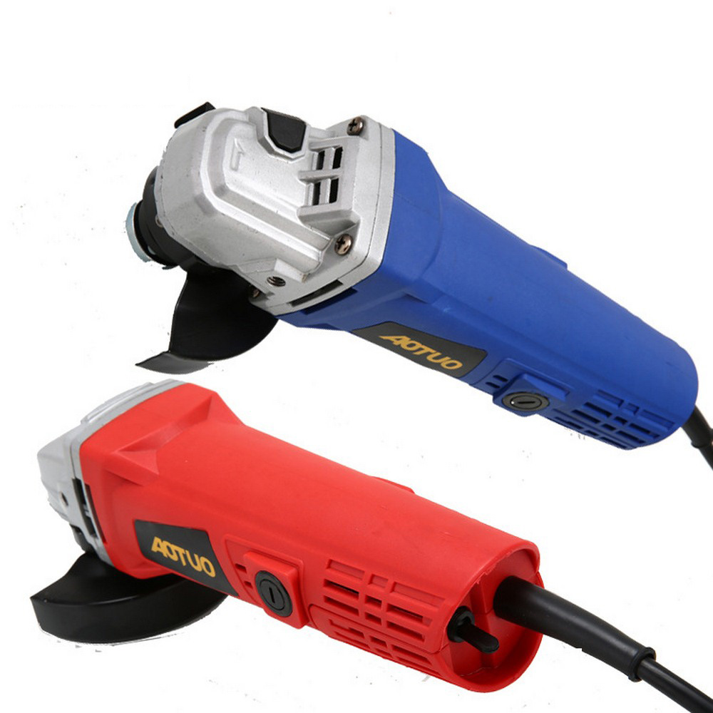 700W Angle Grinder Single Speed 115000 RPM Multi functional Sanding Maching Electric Angle Grinder 220V 50Hz  Cut Off Tool|Grinders| |  - title=
