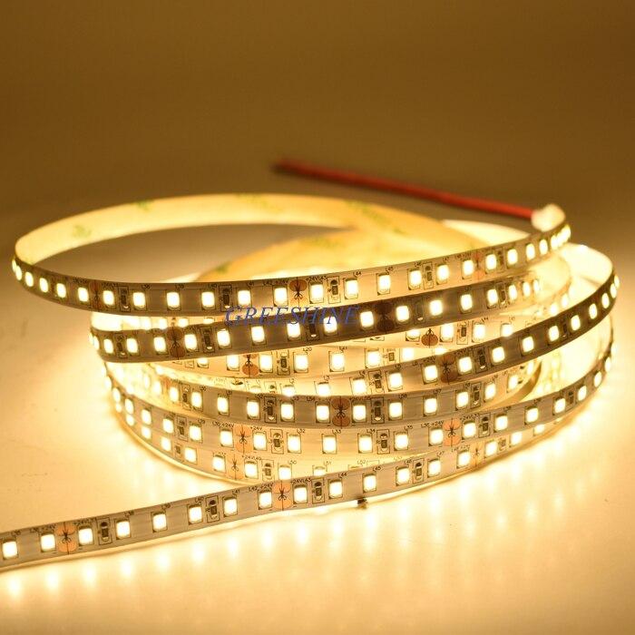 2400LM Super Bright 120LEDs 2835 LED pás 5M Flexibilní Stripe 8MM - LED Osvětlení