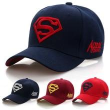 2019 Yeni Mektubu Superman Kap Rahat Açık Beyzbol Kapaklar Erkekler Için  Şapka Kadınlar Snapback Kapaklar Için a19cf8588c9