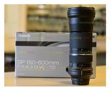 New Tamron SP 150-600mm f/5-6.3 Di VC USD Telephoto Zoom Lens For Nikon