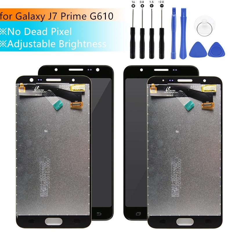 Pour SAMSUNG GALAXY J7 Premier LCD G610 G610F G610M on7 2016 Affichage Écran Tactile lcd de Remplacement J7 Premier LCD Digitizer pantalla