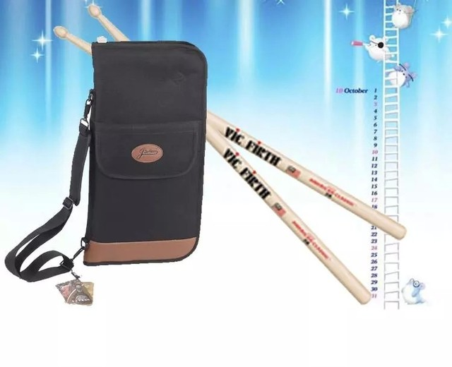 high quality bolsa baquetas thick waterproof  drumsticks bag single shoulder portable club bag  Drum rack  instrument package