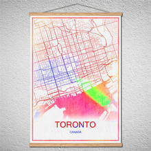 Popular oil paintings toronto buy cheap oil paintings toronto lots with frame canvas toronto world map modern city poster abstract print picture oil painting customized pattern gumiabroncs Image collections