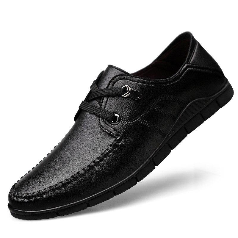En 1 2 Chaussures Casual Hombre Hommes Marque Calzado Mocassins Cuir 4 3 Conduite Respirant fwAnn6qE