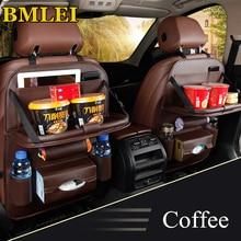 Новая сумка на спинку сиденья автомобиля, складной стол, органайзер, коврик, стул для напитков, карман для хранения, коробка для путешествий, аксессуары для автомобиля