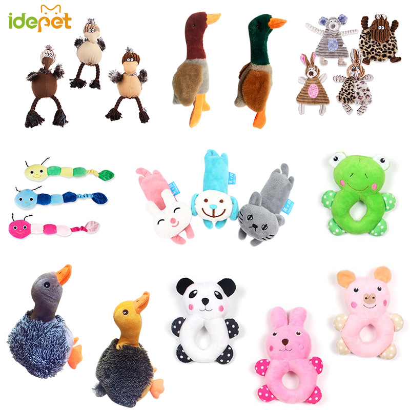 funny dog toys stuffed sustainability chew cat squeak Chew toy for pet grinding training supplies plush 35