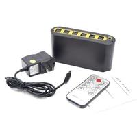Audio Matrix 4 in 2 Out Digital Optical Audio Video Converter SPDIF Splitter Adapter NK Shopping