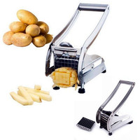 Hand operated Potato Chips Cutting Machine Portable Household DIY French Fries Equip Tools 2016 Kitchen Fruits Vegetables Cutter
