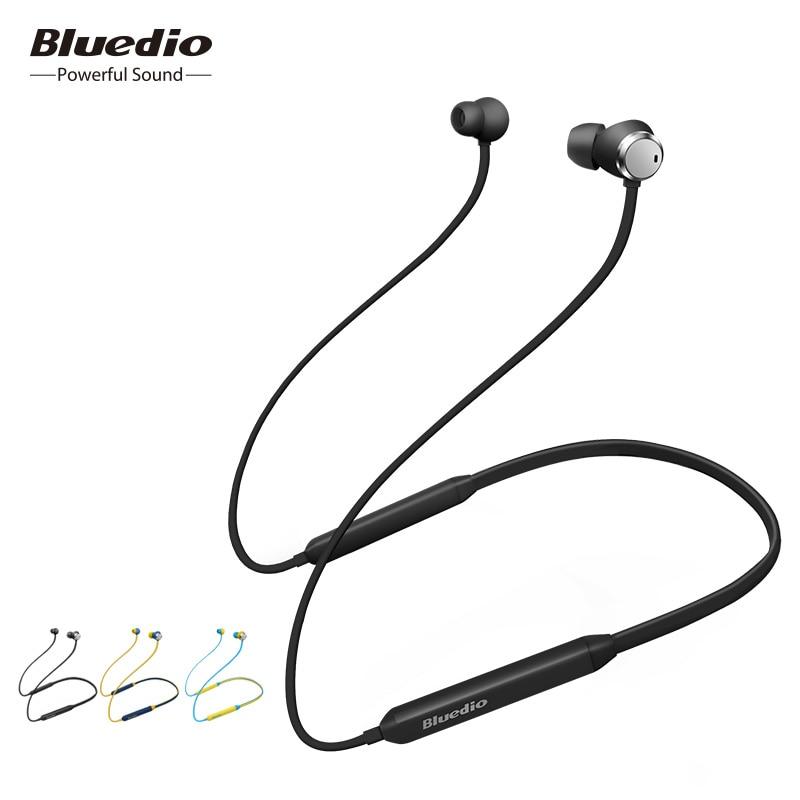 2019 Bluedio TN de cancelación de ruido deportes auriculares bluetooth wireless headset con micrófono para teléfonos móviles iphone xiaomi