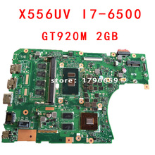 For X556U X556UV ASUS X556UV X556UB X556UR X556UF X556UJ Motherboard CPU i7-6500U REV:3.0 GeForce 920M 2GB Fully tested