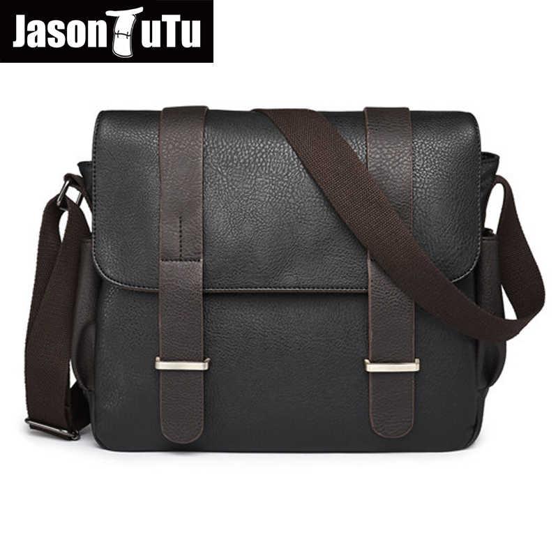 0644fcd43bba Джейсон пачка Англия Стиль брендовая мужская сумка хорошее качество  Искусственная кожа Сумочка Сумки на плечо Для