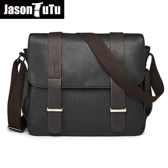 Jason Tutu England Style Brand Male Bag Good Quality Pu Leather Handbag Shoulder Bags Men Messenger