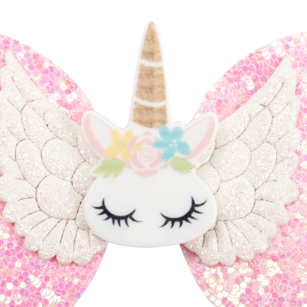 3 39 39 Hair Accessories Bling Glitter Hair Clips For Girls Cute Horn Hair Bows Lovely Antlers Hairpins DIY Boutique Kids Headwear in Hair Accessories from Mother amp Kids