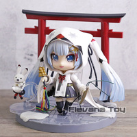 Hatune Miku 2018 Snow Miku Nendoroid Crane Priestess Ver. Action Figure Doll Collection Model Toy Christmas Gift