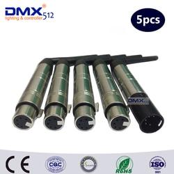 DHL darmowa wysyłka 5 piny XLR bezprzewodowy DMX512 kontroler oświetlenia scenicznego