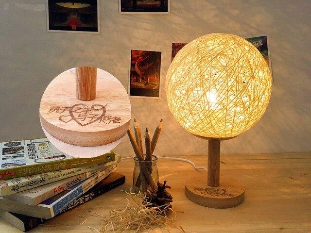 Lamp Slaapkamer Nachtkastje : Creatieve persoonlijkheid moderne warme slaapkamer nachtkastje
