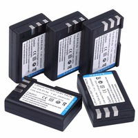 HIBTY 5PCS EN EL9 EN EL9 ENEL9 Camera Rechargeable Battery for Nikon D40 D40x D60 D3X D3000 D5000 Free Shipping