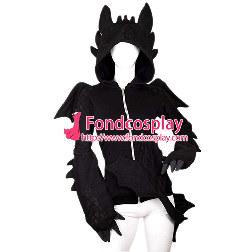 Aliexpress compre how to train your dragon nightfury toothless aliexpress compre how to train your dragon nightfury toothless dragon hoodie movie cosplay costume tailor made de confiana movie cosplay costumes ccuart Images