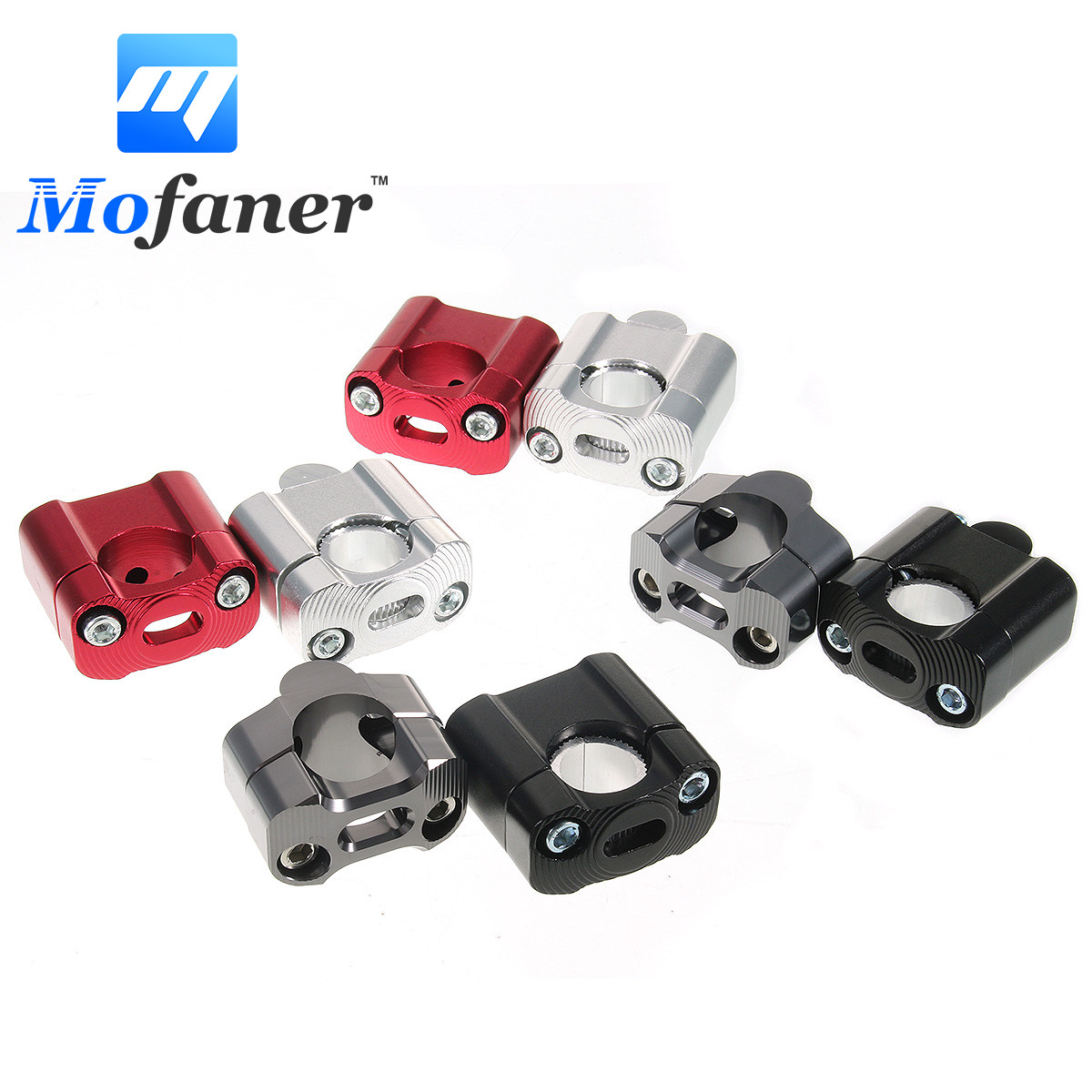 Motorcycle Clamp Riser Handlebar Handle Bar Adapter For 22MM-28MM Pit Dirt Moto Bike