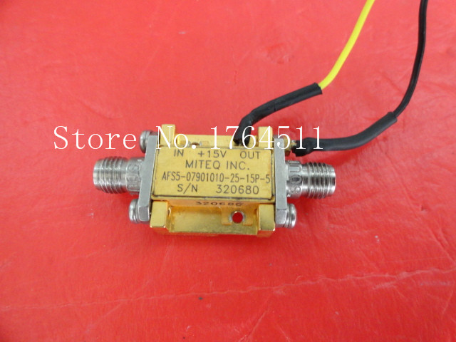 [BELLA] MITEQ AFS5-07901010-25-15P-5 15V SMA Supply Amplifier