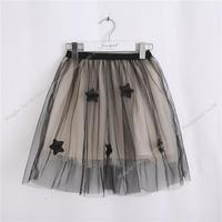 New Arrival Kids Child S Skirt Five Pointed Star Pattern Decoration Girl Princess Skirt 4 9Y