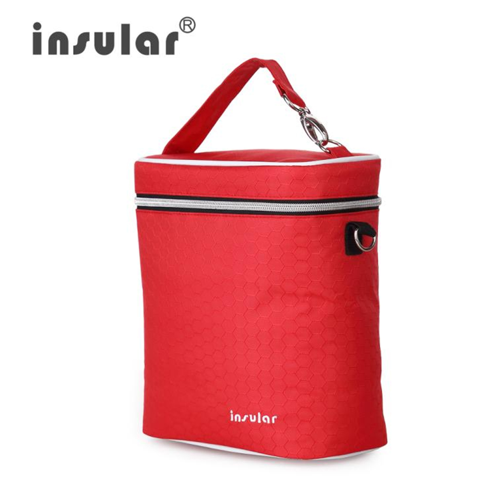 Fashion Baby Stroller Bag Baby Feeding Bottle Insulation Bags Thermal Bottle Bag Cooler Organizer Baby Nursing Bag For Baby Care