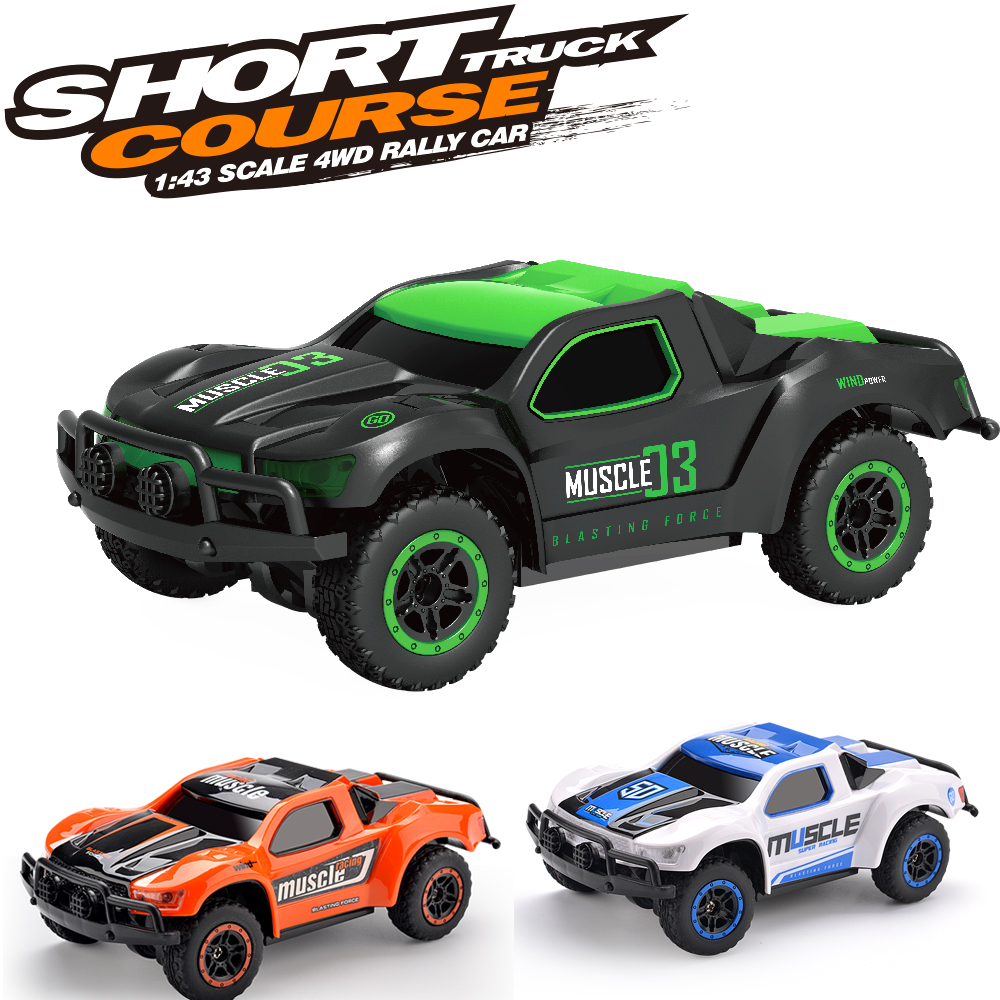Rc Cars High Speed Racing Car 1 43 Mini Scale 4wd 9mph 2 4ghz