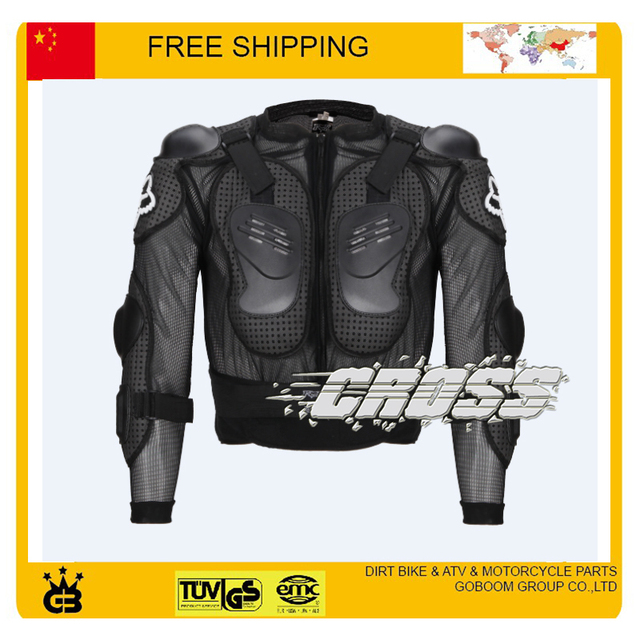 motorcycle fox armor motocross protector gear armor S M L XL XXL XXXL XXXXL size body guard racing accessories free shipping