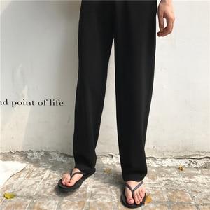 Image 4 - Pants Women Retro High Waost Solid Color Leisure Pant Spring Womens Korean Capris Elegant All match Trouser Ladies Button Pocket