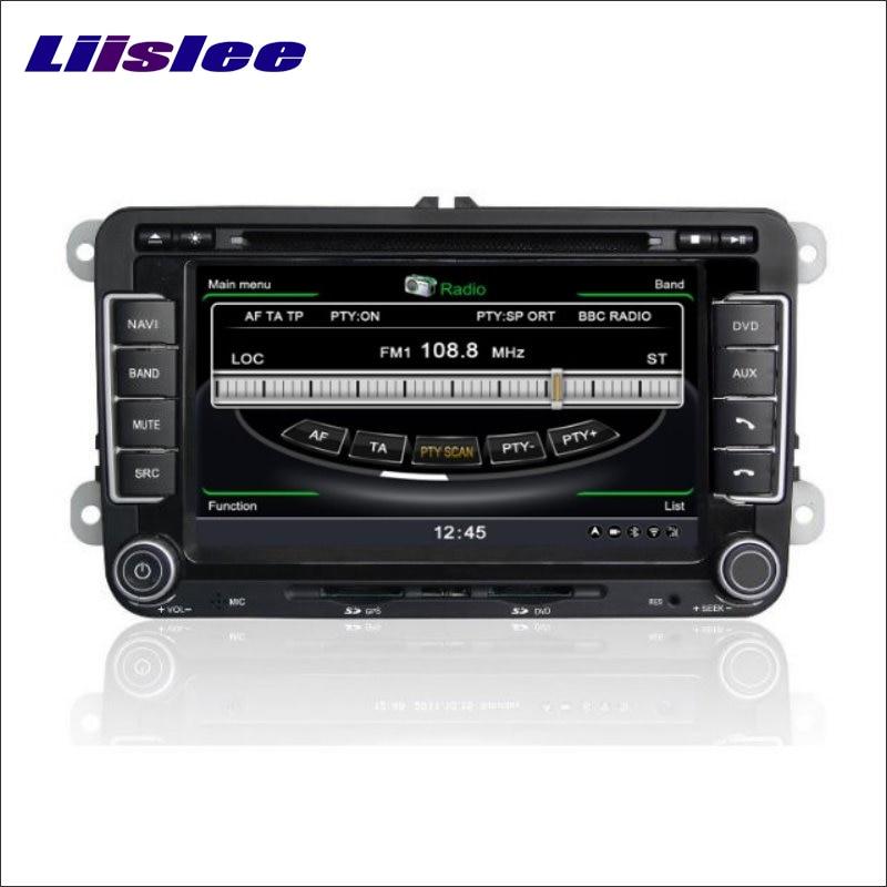 Liislee For Skoda Yeti 2009~2013 Car GPS Nav Navi Map Navigation System Radio TV DVD BT iPod 3G WIFI HD Screen Multimedia System